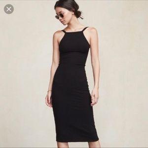 "Reformation ""Carson"" Backless Midi Dress"